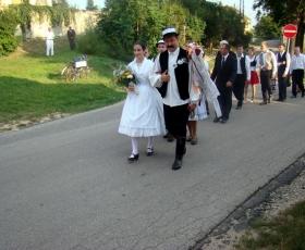 Géber József vőfély Győr - Ménfőcsanak