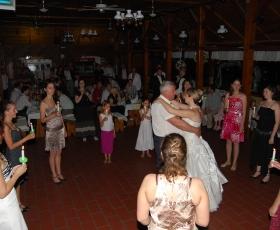 Lánybúcsúztató gyertyás tánc