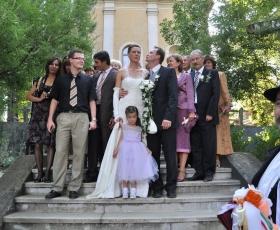 Esküvői csoport fénykép